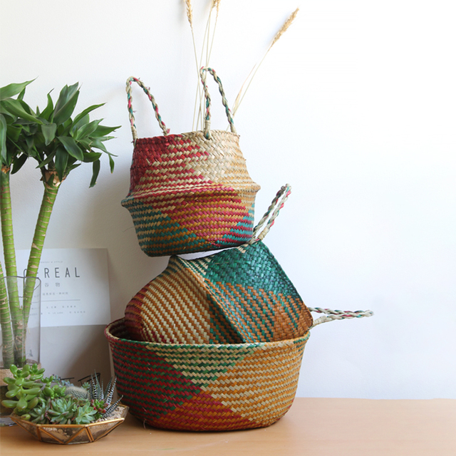 Handmade Decorative Storage Basket