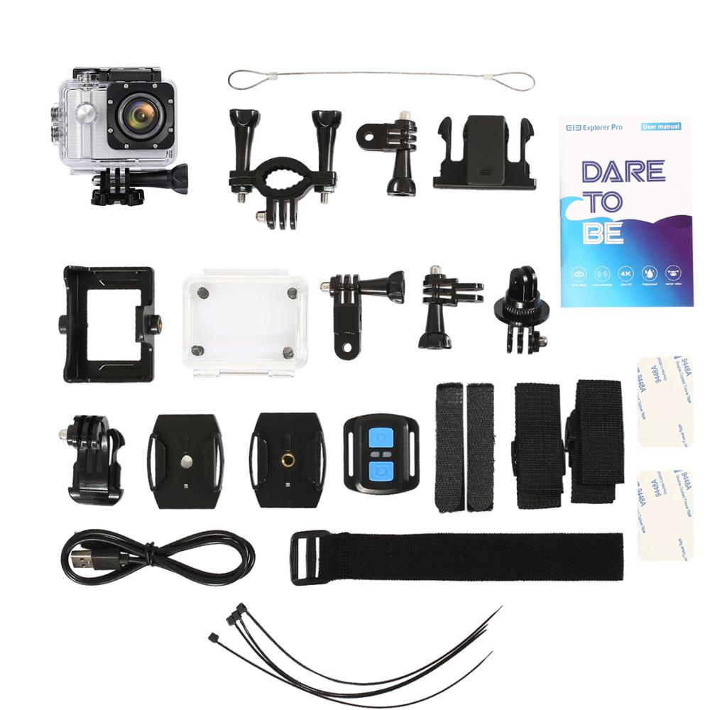 Pour EKEN caméra d'action H9R/H9 Ultra HD 4 K WiFi télécommande sport vidéo caméscope DVR DV vidéo sport caméra