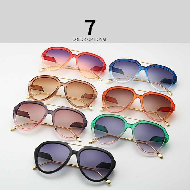La più recente Vintage Pilota Occhiali Da Sole Delle Donne di Estate Stile di Occhiali Da Sole Del Progettista di Marca Occhiali Da Sole Da Uomo Shades Gafas Oculos De Sol UV400