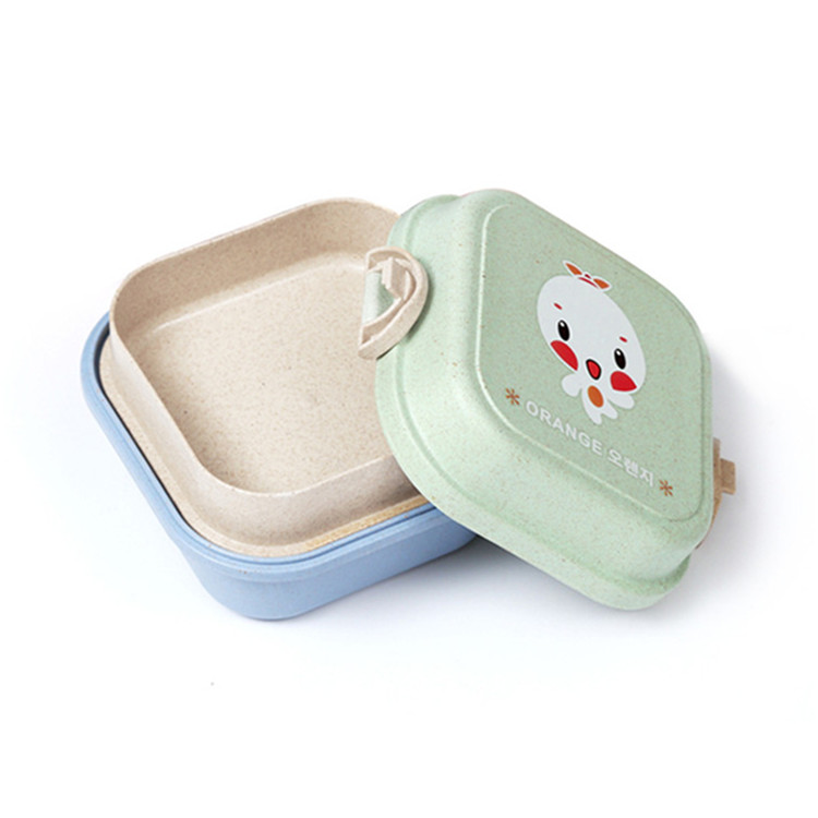 2 tier kids bento lunch container box with lock dinnerware outdoor tableware wholesale kitchen. Black Bedroom Furniture Sets. Home Design Ideas