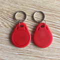 100PCS Red IC 13.56mhz RFID Identification Door Entry Access Key Keyfob Card