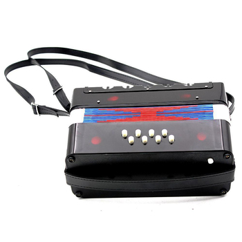 ABWE Best Sale 17-Key 8 Bass Mini Accordion Musical Toy for Kids
