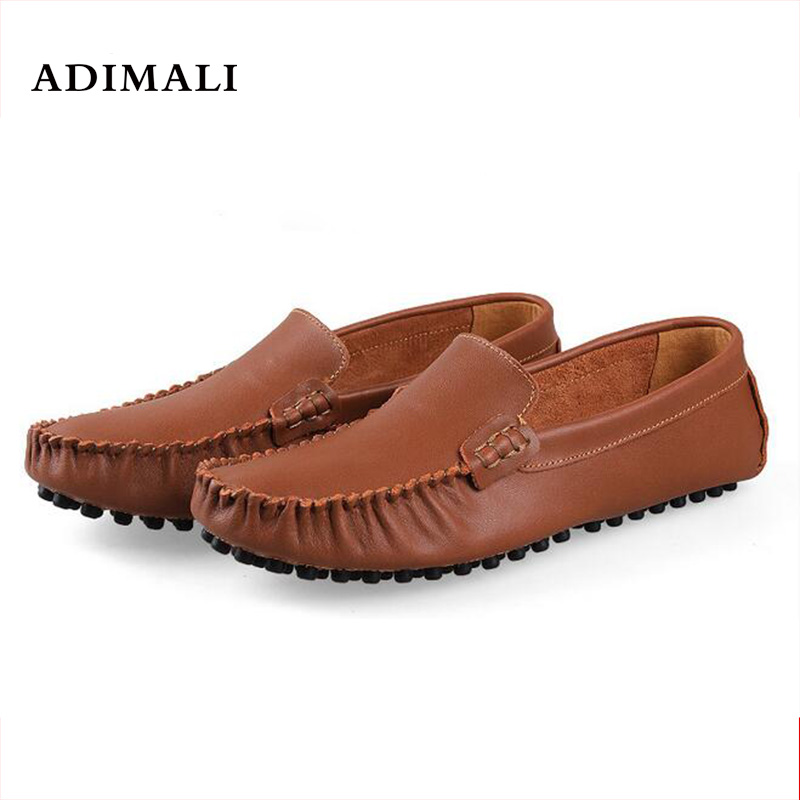 Men Shoes genuine leather Breathable Summer Men's Driving Shoe Handmade Quality Men Loafer Shoes Flats Big Size 38-47 Moccasins men luxury brand new genuine leather shoes fashion big size 39 47 male breathable soft driving loafer flats z768 tenis masculino