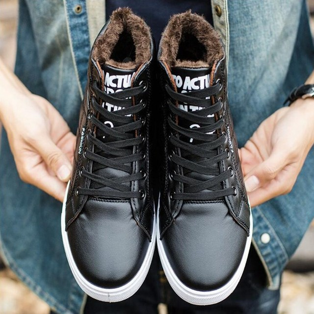 33c31e344 2019 Men boots Fashion Martin Boots Snow Boots Outdoor Casual cheap timber  boots Lover Autumn Winter shoes