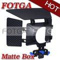 Wholesale HDSLR DSLR Matte Box  for 15mm Rod 5DII 7D 60D 550D D7000 TO 77MM LENS