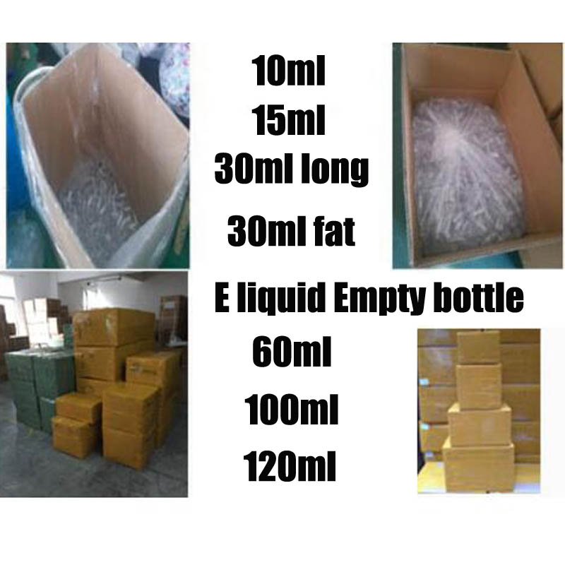 ใส 10 ml 15 ml 30 ml ไขมัน 30 ml 50 ml 60 ml 100 ml 120 ml ขวด tamper evident สกรูหมวกปากกา E liquid ขวด 0C-ใน ขวดและโหลเก็บของ จาก บ้านและสวน บน   1