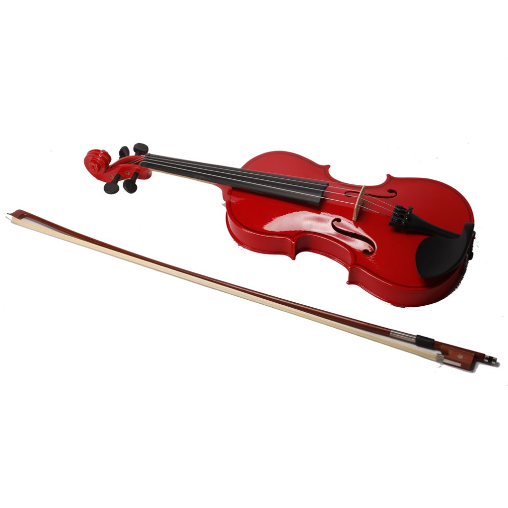 hot sale red violin 4 4 1 4 3 4 1 2 1 8 size available. Black Bedroom Furniture Sets. Home Design Ideas