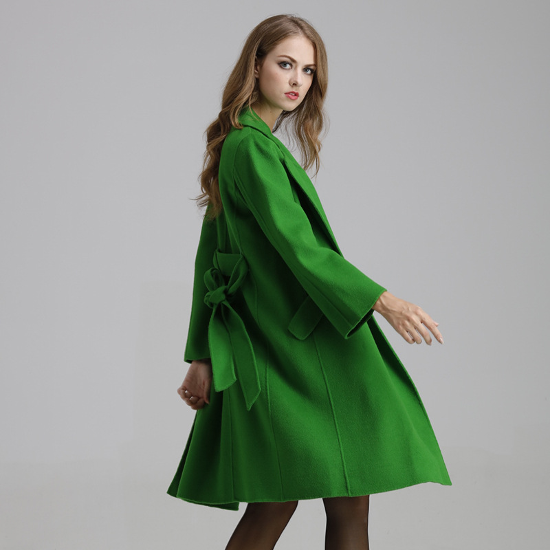 Online Get Cheap Green Belted Coat -Aliexpress.com | Alibaba Group