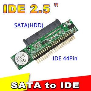 Image 3 - Kebidu Adaptador de disco duro SATA 1,5 hembra a IDE 2,5 macho HDD, 2,5 Gb/s, 44 Pines, para DVD, CD, PC, descontar