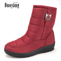 2017 Plus Size Snow Boots Women Winter Antiskid Boots Shoes Waterproof Flexible Women Casual Boots