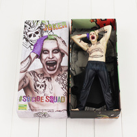 26cm Crazy Toys The Joker Figure Toy Suicide Squad Joker Model Doll for Collection