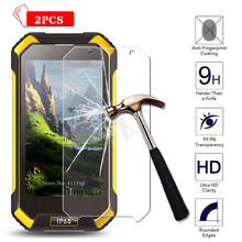 2pcs Screen Protector Tempered Glass Film For Blackview BV6000 BV6000S Anti-Explosion 9H 2.5D Premium Protective Film Case Cover(China)