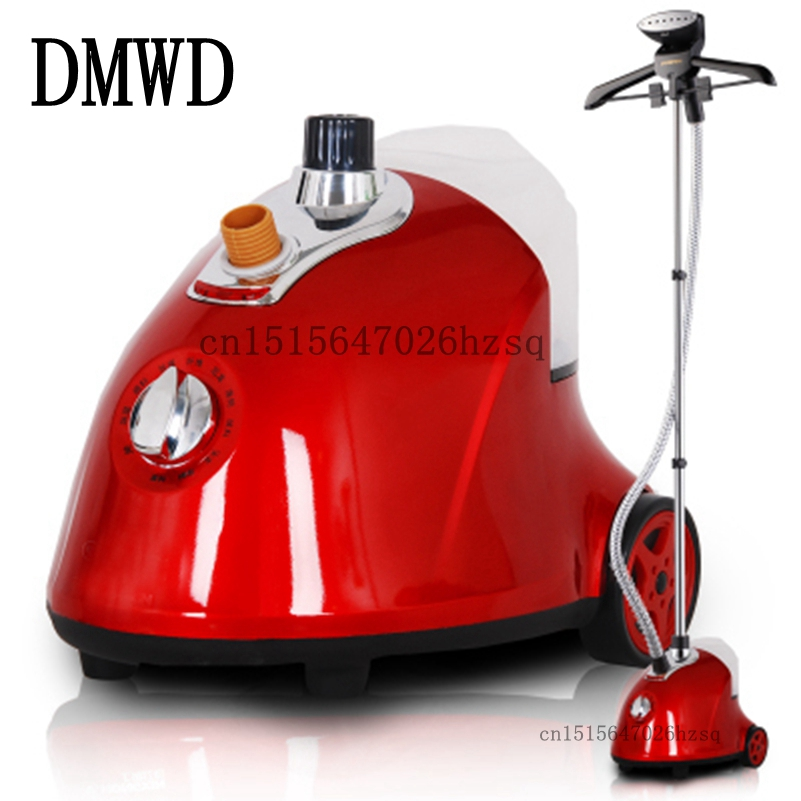 DMWD High quality household Garment Steamers Vertical Steam Iron for Clothes 2000W,red pink yellow high quality silk 35mm 200m blank washing mark high end laundering tags for garment provide custom order