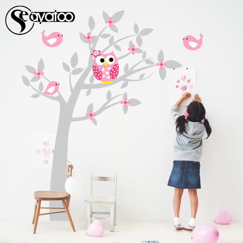 Stickers, Nursery, Baby, Decal, Tree, Wall