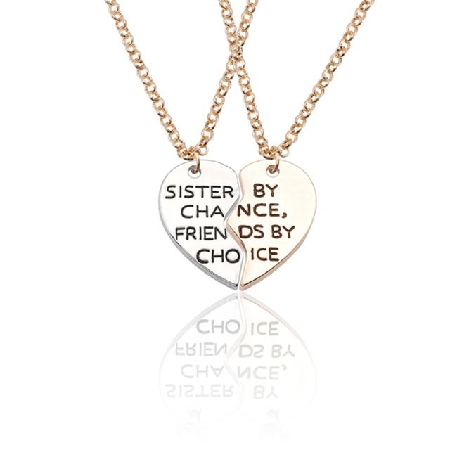 118fb8ea6fbeb3 Купить Ожерелья и подвески   Trendy Best Friends Pendant Necklace ...