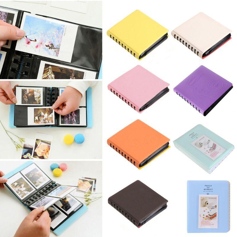 68 карманов фотоальбом для Instant Polaroid чехол для хранения фотографий для Fujifilm Instax Mini Film 7s 8 Korea Instax Mini Album