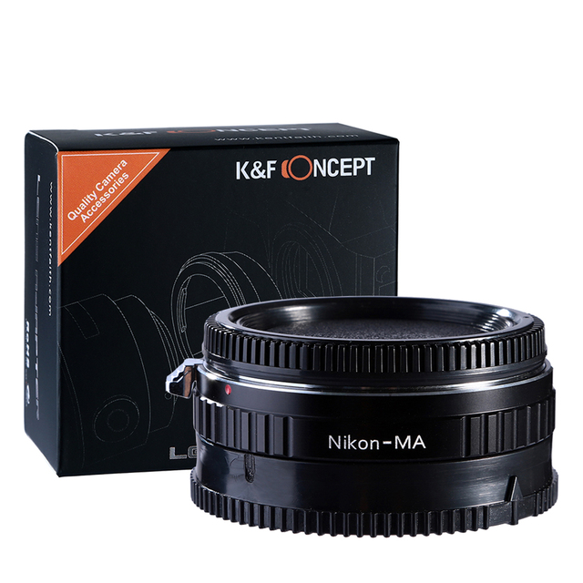 К & F Концепция объектив адаптер для Nikon AI Объектив Minolta МА & для Sony Alpha Адаптер для Установки Кольца Стекла Infinity фокус