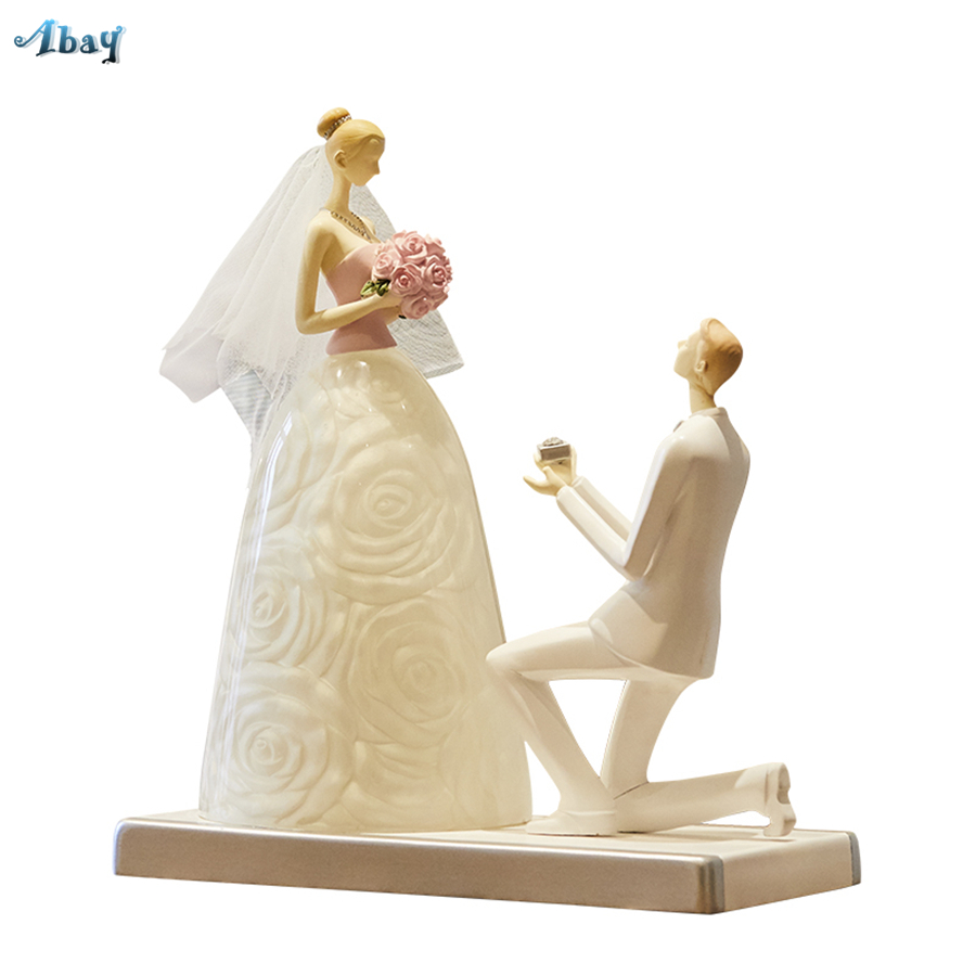 Art Romantic Wedding Room Decoration Table Lamp Wedding Anniversary Gift Makeup Table Bedside Lamp Deco Mariage Light FixtureArt Romantic Wedding Room Decoration Table Lamp Wedding Anniversary Gift Makeup Table Bedside Lamp Deco Mariage Light Fixture