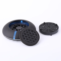 Intelligent Air Fresh Release Anion Car ionizer Back to Nature Dual core Negative Oxygen Ion Generator USB Touch Humidifier