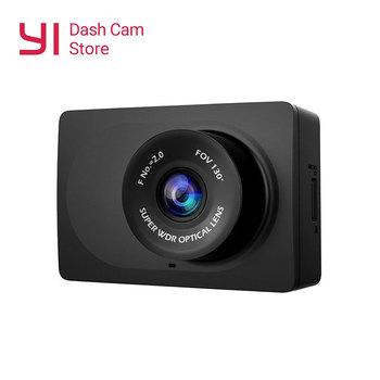 YI kompaktowa kamera samochodowa 1080p Full HD deska rozdzielcza samochodu kamera wifi z 2 7 calowym ekranem LCD 130 WDR obiektyw g-sensor Night Vision tanie i dobre opinie Przenośny rejestrator other Klasa 10 NONE 200 mega Cykliczne nagrywanie Szeroki zakres dynamiki Funkcja wi-fi Cykl nagrywania