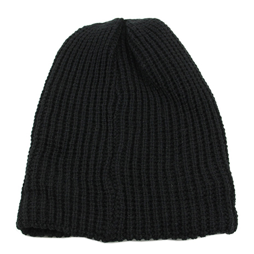New Men/'s Winter Fashion Vertical Stripes Beanie Hat knitted Cotton hat caps UK