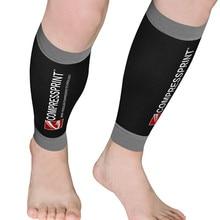 Компрессионные Компрессионные спортивные гетры для бега и велоспорта для мужчин и женщин для плавания, бега, спортзала, баскетбола
