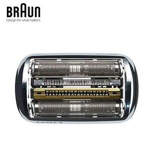 Image 4 - Braun 92 s 전기 면도기 면도날 시리즈 9 호일 및 커터 교체 헤드 카세트 9030 s 9040 s 9050cc 9090cc 9095cc