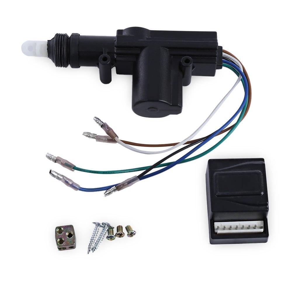 Serrure centrale de porte de véhicule à moteur verrouillage sans clé à quatre actionneur Kit d'outils de sécurité de voiture soudure à ultrasons TLT-4 S-111-WT 12 V