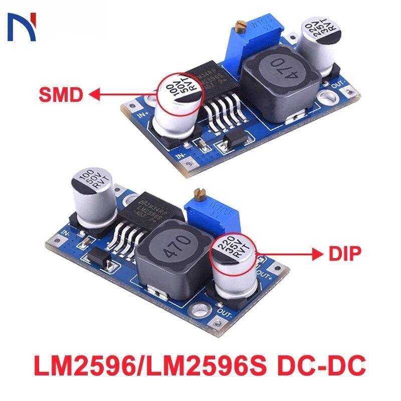 LM2596 LM2596s DC-DC Step Down Power Supply Module 3A Adjustable Step Down Module LM2596S-ADJ Voltage Regulator 24V 12V 5V 3V