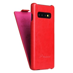 Image 5 - Luxury Retro R64 Pu Leather Flip Case For Samsung Galaxy S10 S8 Plus S9 Note 8 S7edge Vertical Phone Cover