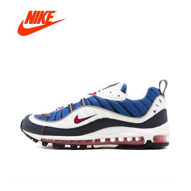 Кроссовки NIKE W Air Max 98 Для мужчин кроссовки открытый дышащие  противоскользящие спортивные кроссовки удобные Оригинал d2e56ba21fb