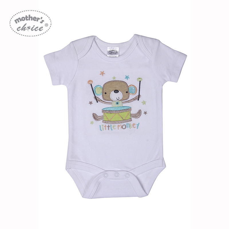 Mother's Choice 3 szt. Body niemowlęce bawełna noworodek chłopcy - Odzież dla niemowląt - Zdjęcie 3