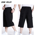Big Size Mens Causal Baggy Cargo Shorts Loose Fit Multi-pocket Military Workout Trainning Overalls Trousers