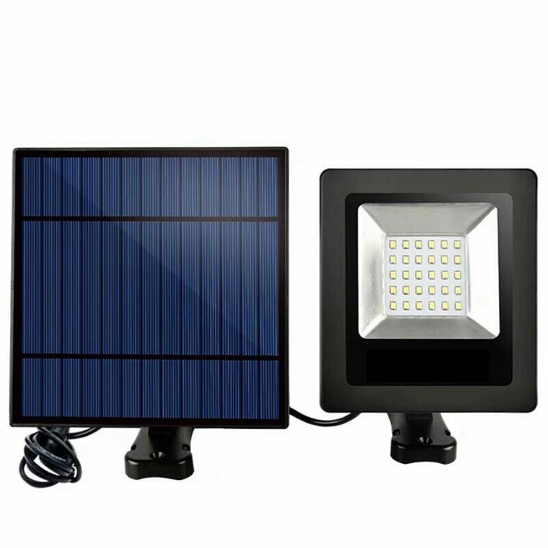 Işıklar ve Aydınlatma'ten Güneş Lambaları'de 30 LED Güneş projektör Bahçe Açık Işık Su Geçirmez Sokak Güneş Lambası Kristal Silikon güneş panelleri Akıllı Işık