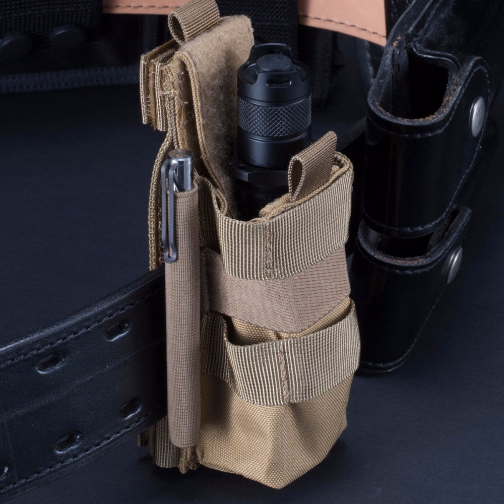 NITECORE NCP30 NCP40 Tactical Holster Flashlight Holder Case Pouch 1000D Nylon Professional Outdoor Hunting Equipment 2 COLORS