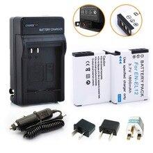 2 * EN-EL12 EL12 ENEL12 Замена Батареи Батарея AKKU + 1 * Зарядное устройство для NIKON S620 s6200 s630 S6300 s640 s70 S710 S8000 Камера