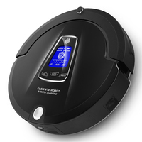 High End Multifunction Robot Vacuum Cleaner Sweep Vacuum Mop Sterilize Schedule 2Way VirtualWall SelfCharge