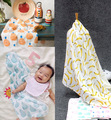 75*115 см детское одеяло пеленать Муслин Хлопок 100% Мягкая Новорожденный Полотенце Купания Одеяла Multi Конструкций Ребенка Wrap
