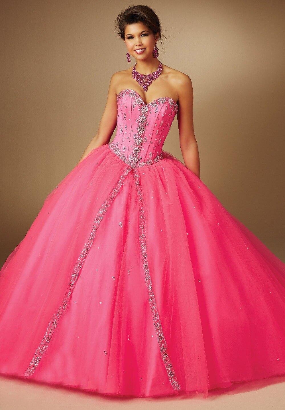 Online Get Cheap Hot Pink Puffy Prom Dresses -Aliexpress.com ...