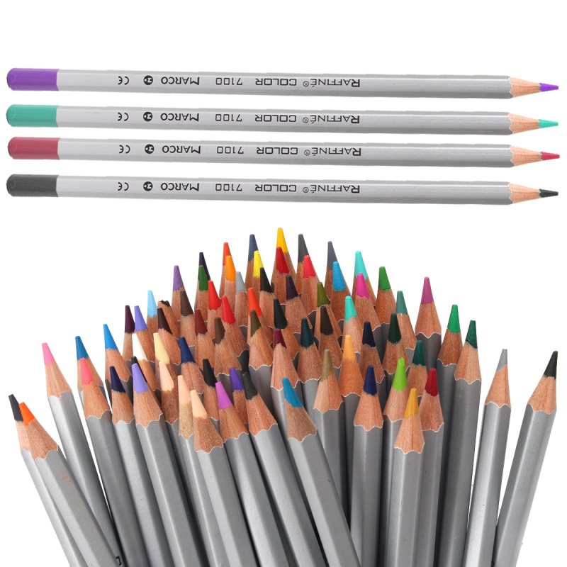 2017 Art colored pencils 72 Colors Drawing Sketches  Colour Pencil School Supplies Secret Garde Pencil marco raffine fine art colored pencils 24 36 48 colors drawing sketches mitsubishi colour pencil for school supplies