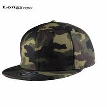 LongKeeper caliente Camo Snapback Caps camuflaje Planas Hip Hop sombreros  para hombres mujeres 6 Panel Snap back gorra de béisbo. cbd00b2b271