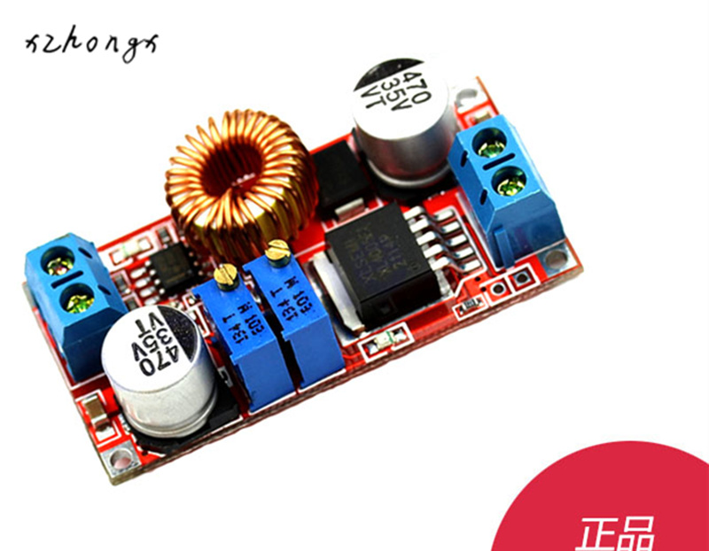 XNWY 1PCS 5A Max Step-Down Buck Charging Board XL4015 ADJ Lithium Battery Charger Converter Module DC-DC 0.8-30V To 5-32V