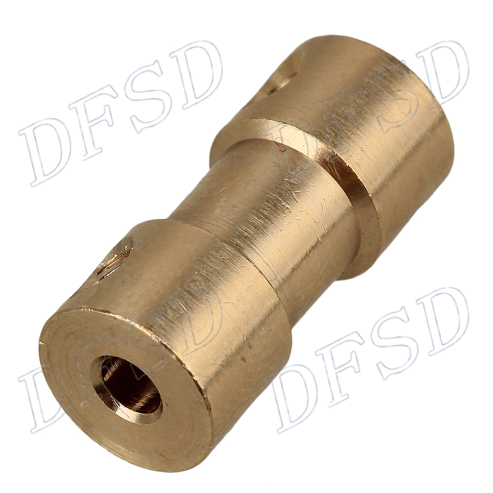 3mm To 5mm Brass Joint Motor Shaft Coupling Adapter