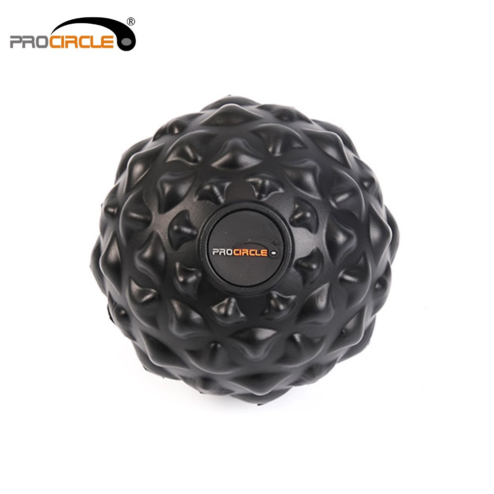 Cobblestone Fitness Balls PU Massage Ball Self-myofascial Release for Instant Muscle Pai ...