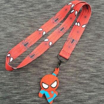 Шнурок с карабином и брелком Человек паук