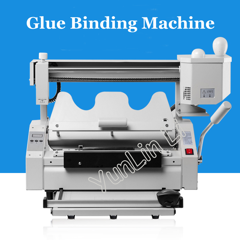 Hot Melt Glue Binding Machine Booklet Maker Desktop Glue Book Binding Machine Glue Book Binder Machine цены