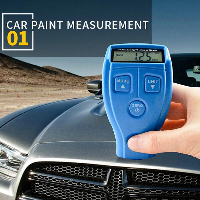 Filme GM200A Ultra-sônica Mini Medidor de Espessura de Revestimento Tester Medidor de Espessura Medidor de Espessura de Revestimento Pintura Do Carro 0-71.0mil 0-1.80mm