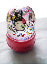 Hayao Miyazaki animation Totoro colorful lights rotating music box