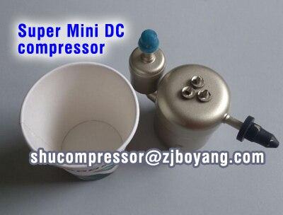 цена 48V Super Micro Mini Kompressor For Electronic Battery tank Computer board cooling  Vehicle Refrigerator Fridge Carrier Freezer онлайн в 2017 году