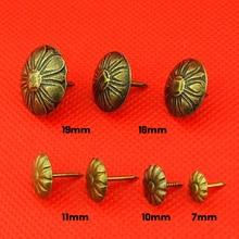 Daisy nailGolden bubble nails. Ancient copper Doornail. Sofa soft bag nail. Pushpin. Tack. Round nail